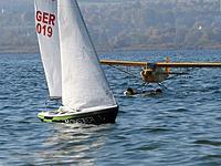 Name: k-CIMG5333.jpg Views: 122 Size: 67.7 KB Description: Thorstens Sprinta (Monster) with Seaplane preparing for take-off in background