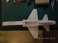Name: DSCN0722.jpg Views: 201 Size: 172.7 KB Description: Looks kind of odd from over head.  Once I'm done, hopefully it look real sleek.