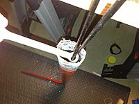 Name: Picture 004.jpg Views: 44 Size: 143.4 KB Description: while the 5 minute epoxy/microballoons set up I held the rods away from the side of the fuse to keep them from binding to the fuse.