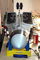 Name: Twins4.jpg Views: 114 Size: 112.5 KB Description: The J11B's Huge Intakes & Exhaust nozzles should work well with the Air Starved CS-10 fans. Shown with Freewing SU-35 Nose Cone & Retracts.