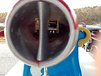 Name: MigIntake.jpg Views: 104 Size: 106.4 KB Description: View through the Intake of the lowered battery box