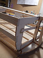 Name: 020 - DSCN7587.jpg Views: 111 Size: 1.32 MB Description: All the Chines and Battens were sanded flush with the front of Frame 2 and the rear of Frame 9.