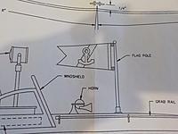 Name: 449 - DSCN0283.JPG Views: 10 Size: 483.7 KB Description: The Commuter's Cabin Flag Pole.