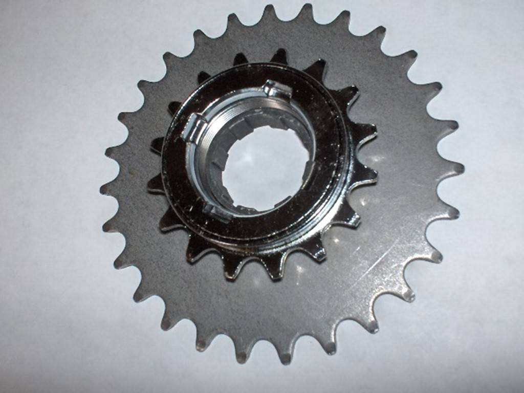 How to convert an alternator to a motor page 45 rc groups for Freewheel sprocket for electric motor