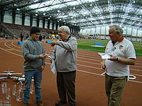 Name: DSC08725.jpg Views: 80 Size: 307.6 KB Description: Matt Kloss, 1st in Sportsman, presented by AMA Pres Bob Brown and NSRCA Pres Jim Quinn.