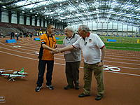 Name: DSC08759.jpg Views: 75 Size: 308.0 KB Description: Devin McGrath accepting one of his awards (1st in AP13, 2nd in AM)