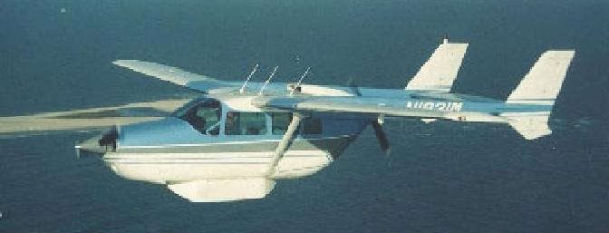 A photo of the full-scale Cessna 337