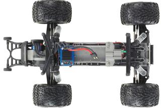 The Traxxas Stampede chassis