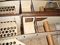 Name: DSC03114.jpg Views: 233 Size: 240.9 KB Description: Top-left view of the nose gear bulkheads.