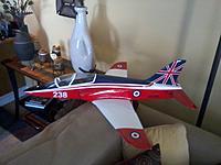 Name: my new BAE Hawk fiberglass jet.jpg Views: 215 Size: 111.6 KB Description: sweet, need a cheap trainer