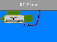 Name: Rc bomb drop 1.png Views: 936 Size: 22.0 KB Description: Fairly simple, just a channel activated electric charge that ignites the fuse. Similar to that of a model rocket. Would be all about timing, in that you would have to light the fuse and then a second or two later drop it.