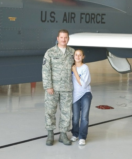 Name: MSgt Accurso & Daughter V2.jpg Views: 1,137 Size: 65.4 KB Description: MSgt Tony Accurso and his daughter Evelyn.