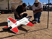 Name: IMG_5433.JPG Views: 171 Size: 1.97 MB Description: EDF jet enthusiasts checking out the new 90mm Flex Jet, from Flex Innovations.