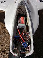 Name: IMG_5439.jpg Views: 278 Size: 1.69 MB Description: 90mm Flex Jet from Flex Innovations, battery compartment.