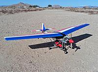 Name: Kyosho Wingmaster 10 Runway.jpg Views: 44 Size: 1.88 MB Description: Kyosho Wingmaster 10 Ultralight with Magnum .15 engine.