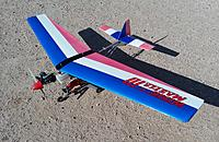 Name: 20210322_093146.jpg Views: 31 Size: 2.44 MB Description: Kyosho Wingmaster 10 Ultralight with Magnum .15 engine.