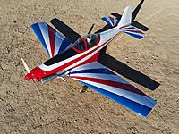 Name: 20210912_082631.jpg Views: 12 Size: 4.23 MB Description: Great Planes Zlin Akrobat with OS .46 AX engine.