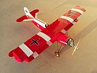 Global Hobby Fokker D-7 with OS FS-52