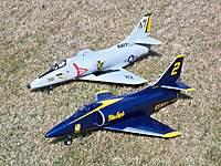 Name: Blue Angels A-4 012.jpg Views: 230 Size: 137.4 KB Description: Blitz RC Works 55mm A-4 Skyhawks