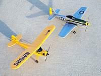 Name: J-3 & P-51 001.jpg Views: 225 Size: 129.9 KB Description: