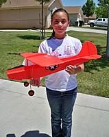 Name: Birddog Painted 009.jpg Views: 240 Size: 90.1 KB Description: My daughter holding our Fabco Birddog.