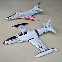 Name: 18 Dec 10 50mm T-33 & A-4 043.jpg Views: 448 Size: 86.3 KB Description: The 50mm T-33 Shooting Star and A-4 Skyhawk from Toysonics.