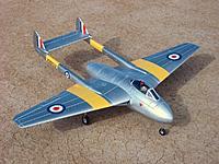 Name: HK Vampire 100.jpg Views: 455 Size: 195.2 KB Description: Durafly DH 100 Vampire 70mm EDF jet from Hobby King