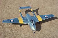 Name: HK Vampire 113.jpg Views: 391 Size: 200.9 KB Description: Durafly DH 100 Vampire 70mm EDF jet from Hobby King