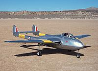 Name: HK Vampire 115.jpg Views: 491 Size: 270.2 KB Description: Durafly DH 100 Vampire 70mm EDF jet from Hobby King