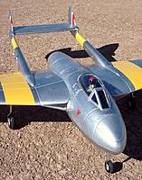 Name: HK Vampire 127.jpg Views: 428 Size: 260.1 KB Description: Durafly DH 100 Vampire 70mm EDF jet from Hobby King