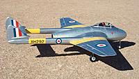 Name: HK Vampire 131.jpg Views: 383 Size: 175.6 KB Description: Durafly DH 100 Vampire 70mm EDF jet from Hobby King
