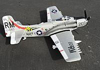 Name: Skyraider 4.jpg Views: 157 Size: 263.7 KB Description: Durafly 1100mm A-1 Skyraider