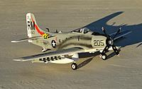 Name: Skyraider Parked.jpg Views: 820 Size: 210.3 KB Description: Durafly 1100mm A-1 Skyraider