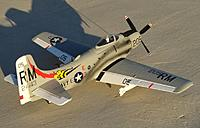 Name: Skyraider Side.jpg Views: 168 Size: 239.7 KB Description: Durafly 1100mm A-1 Skyraider