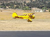 Name: Waco Flyby.jpg Views: 371 Size: 225.1 KB Description: Dynam Waco in flight. Photo by Evelyn.