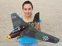 Name: HK ME-163 7.jpg Views: 1085 Size: 184.8 KB Description: RC Pilot Evelyn holding the Hobby King ME-163 Komet.