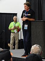 Name: AMA Expo 2013 140.jpg Views: 81 Size: 92.5 KB Description: Guest Speaker Bruce Jenner talking about his passion for Aviation and RC Helicopters