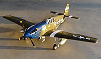 "Name: 16 Feb 2013 046.jpg Views: 144 Size: 154.3 KB Description: New FMS 1400mm P-51B ""Dallas Darling"""