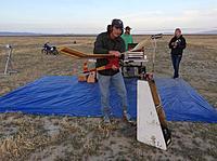 Name: IMG_9285.jpg Views: 67 Size: 587.2 KB Description: Jeff Carman doing a test run on his Texan.