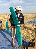 Name: IMG_9354.jpg Views: 58 Size: 270.0 KB Description: Don Kaiser preparing to test run is Spacer 435.