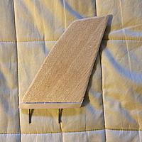 Name: IMG_0270.jpg Views: 94 Size: 372.2 KB Description: The Turbo FG Fin - pre-cut balsa Fin epoxied to a hardwood strip with mounting bolts thru it ;-)