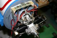 Name: Moteur.jpg Views: 777 Size: 33.1 KB Description: Saito FA100T installation onbaord NA T6