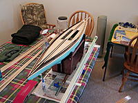 Name: P4140022.jpg Views: 151 Size: 291.0 KB Description: Planking at end of day, 4 planks per side + two ready to go.