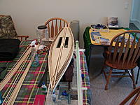 Name: P4140023.jpg Views: 140 Size: 290.7 KB Description: Bow on view, better view of the planks.