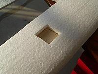 Name: IMG_0390.jpg Views: 401 Size: 205.4 KB Description: Detail of servo pocket.