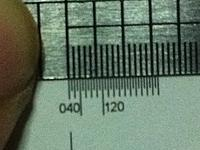 Name: Photo 5-02-13 12 16 24 PG.jpg Views: 45 Size: 141.6 KB Description: Check if the ruler is accurate.
