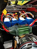 Name: 20190916_164311.jpg Views: 6 Size: 3.69 MB Description: Future battery arrangement.  Very easy to load/unload the packs in this orientation.