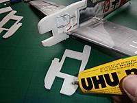 Name: P1170697.jpg Views: 86 Size: 99.9 KB Description: Nose pieces are glued into place using the UHU por