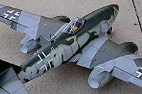 Name: Dynam ME-262 Pre-Maiden (5).jpg Views: 356 Size: 220.3 KB Description: Version I - Bisected flaps.