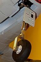 Name: Version I & II - Dynam ME-262 Nose Gear Oleo mod.jpg Views: 381 Size: 215.5 KB Description: Version I & II - Nose wheel oleo strut mod.